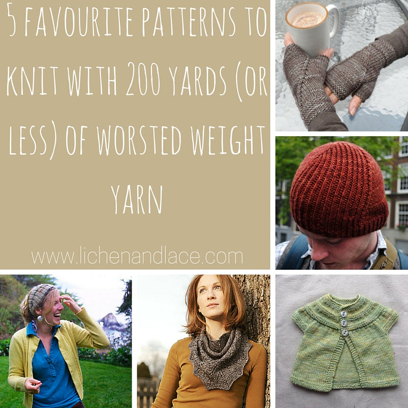 What to Knit with 1 Skein of Worsted?