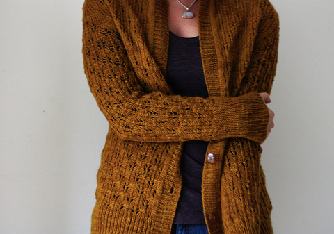 Adult Sweaters to knit with Rustic Heather Sport