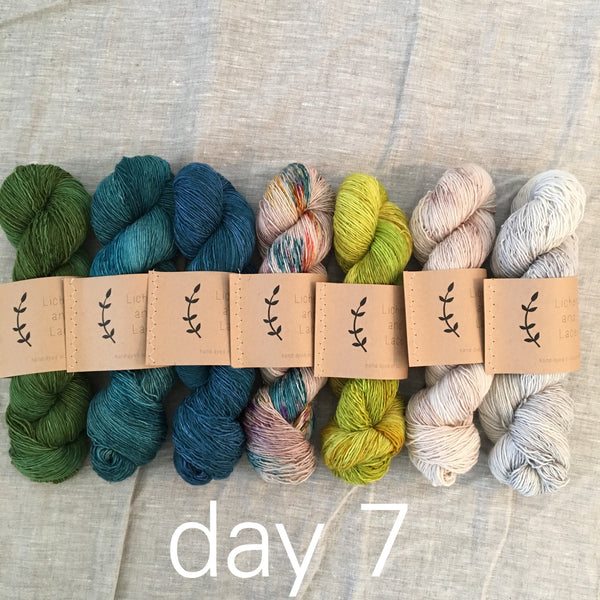 day 7 mini sock fade set