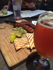 Breckenridge Brewery | Sexy Sausage Cheese Plate