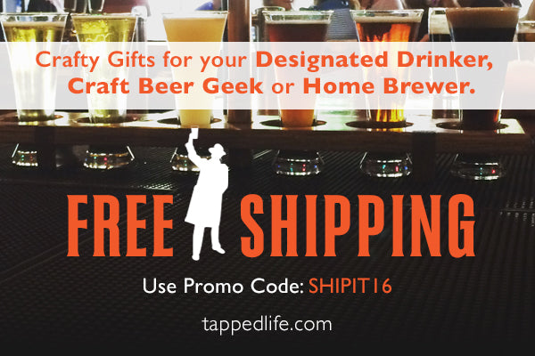 Black friday / cyber monday | free shipping promo code from tappedlife.com