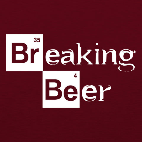 Breaking beer mens beer t-shirt by Craft Brewed Clothing