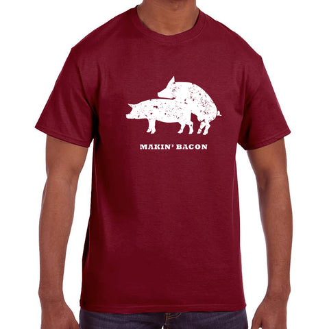 Tapped Life's Makin Bacon Men T-shirt