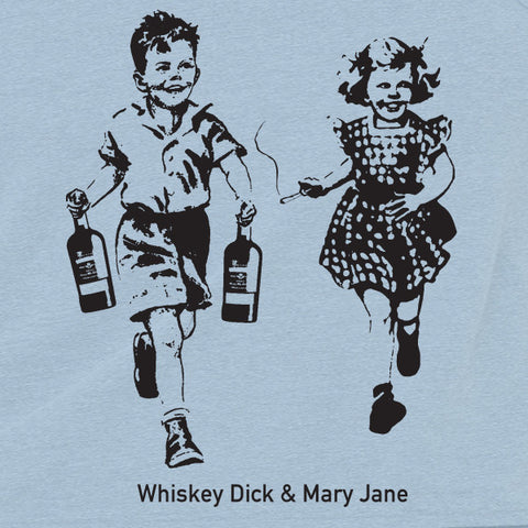 Whiskey Dick and Mary Jane MENS T-Shirt
