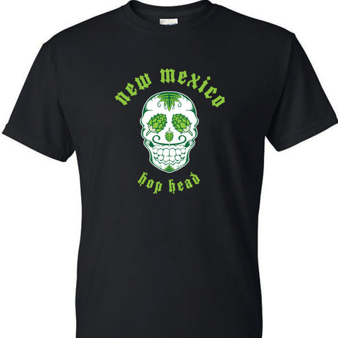 New mexico hop head mens beer t-shirts by Craft Brewed Clothing