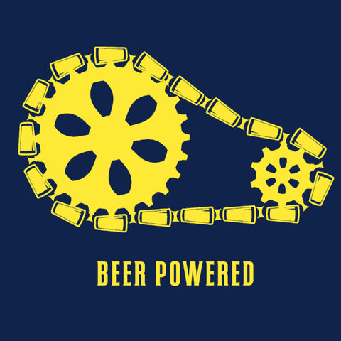 Beer Powered MENS T-Shirt