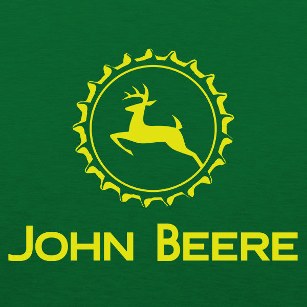 John Beere Mens T Shirt By Craft Brewed Clothing Tapped