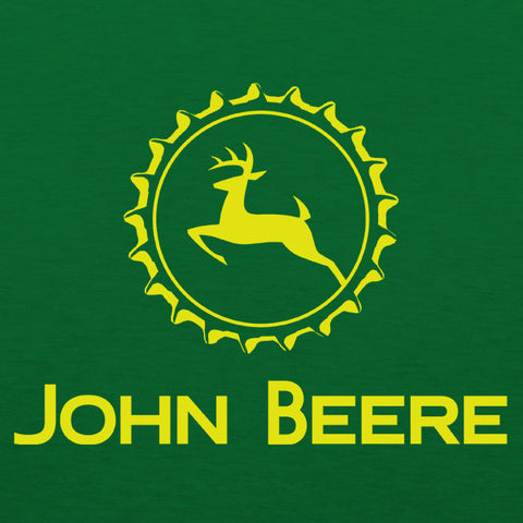 John beere mens beer t-shirt by Craft Brewed Clothing