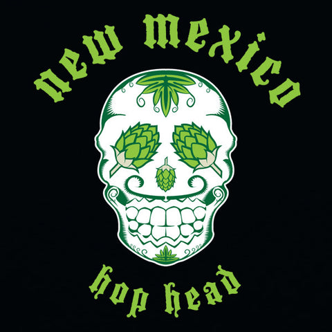 New mexico hop head mens beer t-shirt by Craft Brewed Clothing