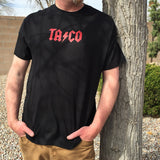 AC/DC Taco mens beer t-Shirts by Craft Brewed Clothing