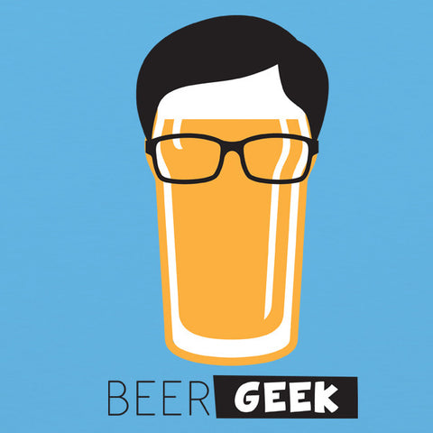 Beer geek mens craft beer t-shirt by Craft Brewed Clothing