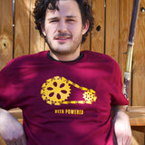 Beer powered mens craft beer t-shirts by Craft Brewed Clothing