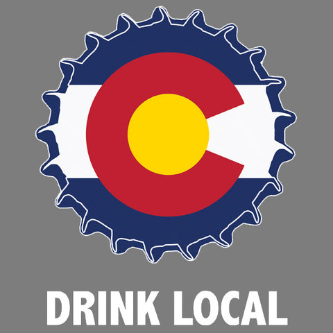 Colorado drink local mens beer t-shirt by Craft Brewed Clothing
