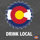 Colorado drink local brewers beer workout shirt
