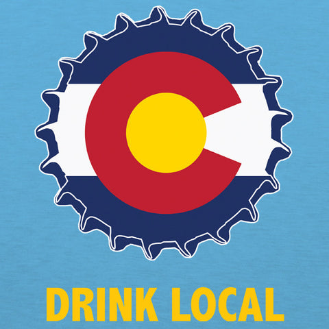 Colorado drink local womens beer t-shirt by Craft Brewed Clothing