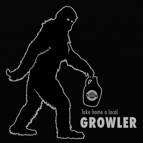Local growler mens beer t-shirt by Craft Brewed Clothing