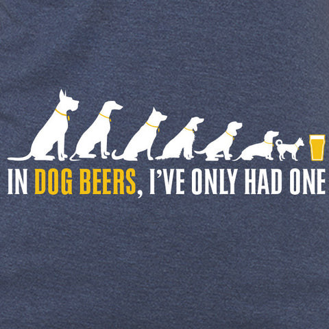 n dogs beers, I've only had one womens craft beer t-shirt