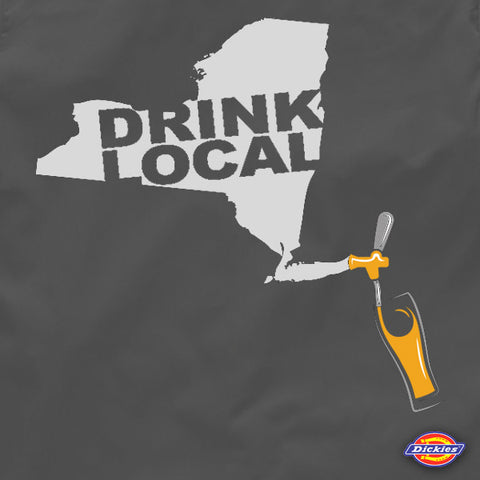 New york drink local brewers beer work shirt by Craft Brewed Clothing