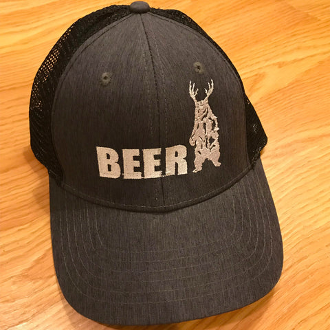 Bear + Deer   BEER Trucker Hat 7fcdaf11abaa