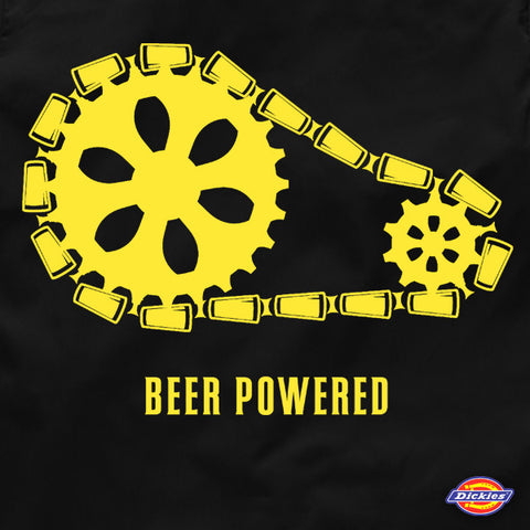 Beer powered dickies beer workout shirt