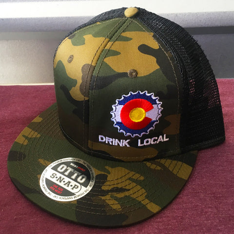 Colorado Drink Local Trucker Cap 519af451f3fd