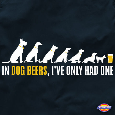 In dog beers brewers beer workout shirt by Craft Brewed Clothing