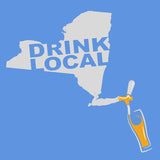 New York Drink Local WOMENS T-Shirt