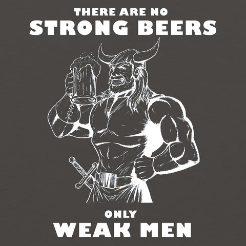 Weak men mens/unisex beer tank top