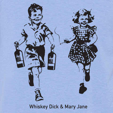 Whiskey Dick and Mary Jane MENS/UNISEX Tank Top