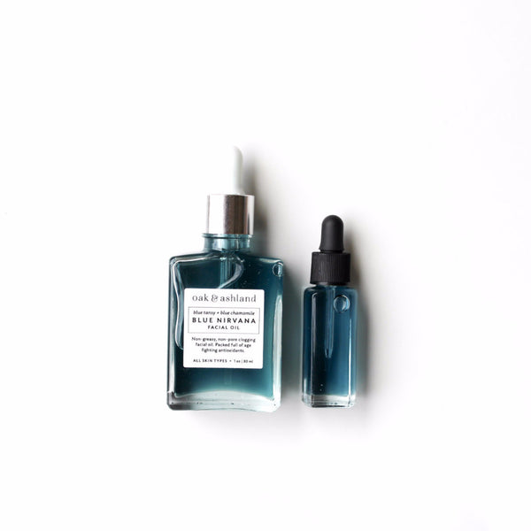 Mini-Blue Nirvana Facial Oil