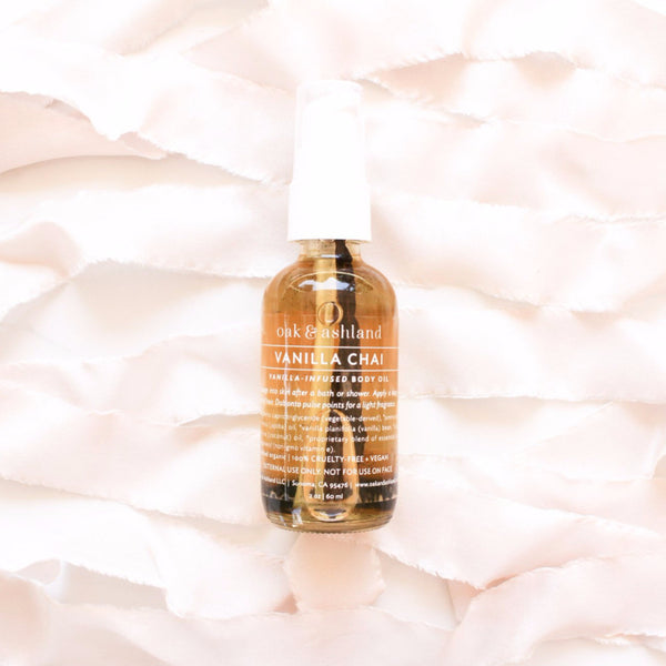 Vanilla Chai Body Oil Mini