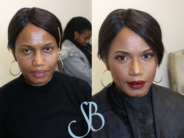 before and after client 6