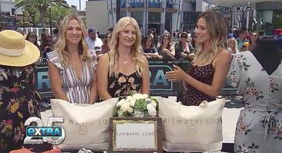 Saltwater Luxe featured on EXTRA