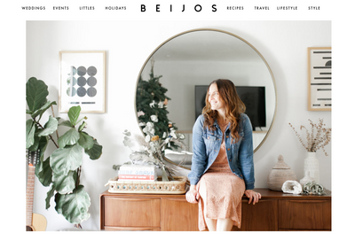 Saltwater Luxe featured on Beijos