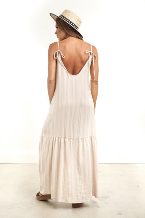 Gemma Maxi Dress Stripe