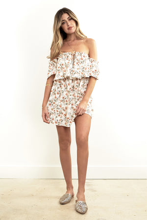 Misha Mini Dress Dot Floral