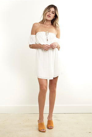Misha Mini Dress Lurex