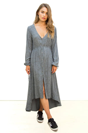 Knockout Maxi Dress Jacquard