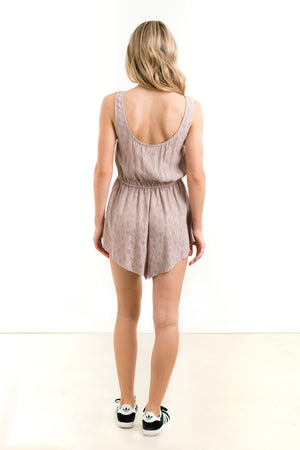 Live It Up Romper Orchid