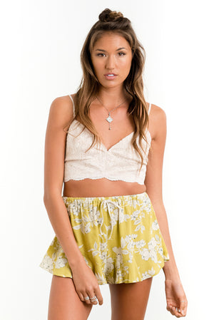 Lovers Beach Crop Lace