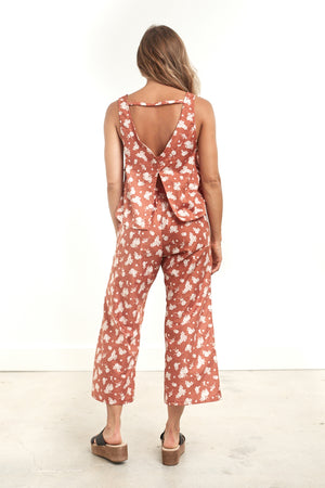 Retreat Crop Pant Floral
