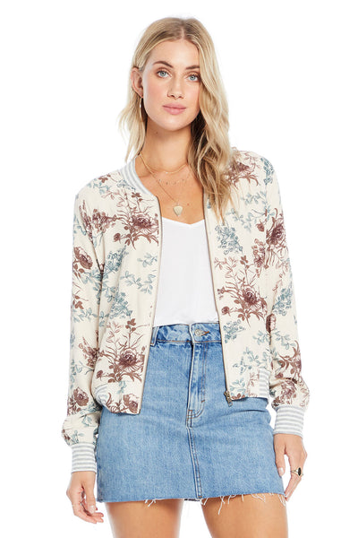 Crossfire Bomber - Fresh Bouquet,saltwater luxe,Saltwater Luxe,WOMENS