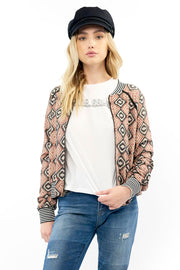 Crossfire Bomber - Embroidery,saltwater luxe,Saltwater Luxe,WOMENS