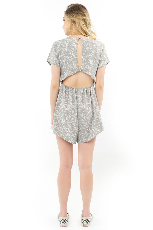 Sterling Romper - Dot,saltwater luxe,Saltwater Luxe,WOMENS