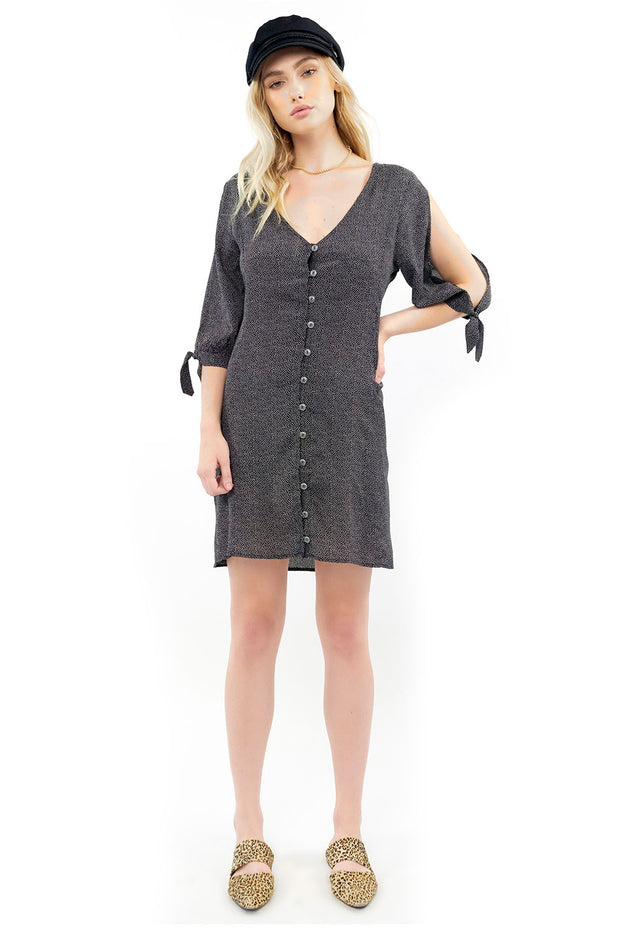 Lost In Love Dress - Dot,saltwater luxe,Saltwater Luxe,WOMENS