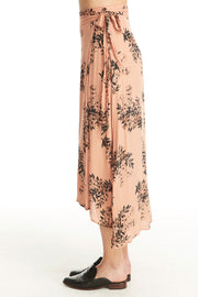 Brielle Wrap Skirt - Lurex Floral,saltwater luxe,Saltwater Luxe,WOMENS