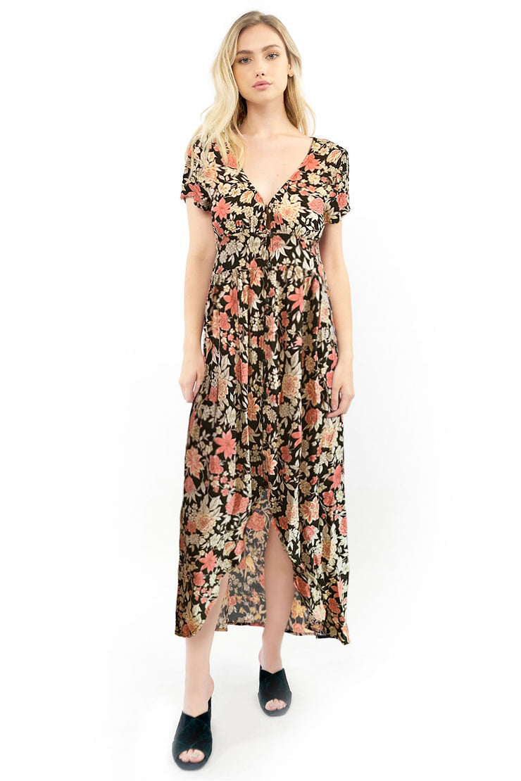 Dawson Maxi Dress - Floral,saltwater luxe,saltwater-luxe,WOMENS