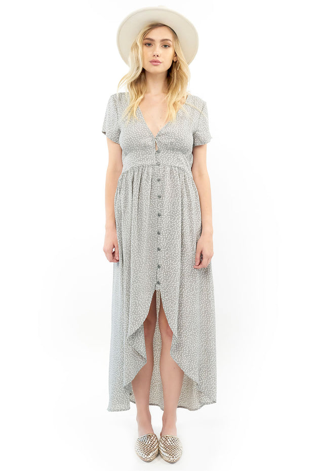 Dawson Maxi Dress - Dot,saltwater luxe,Saltwater Luxe,WOMENS