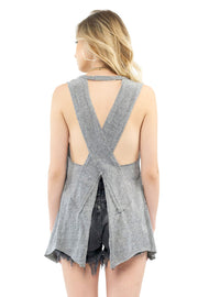Salty Air Tank - Heather,saltwater luxe,Saltwater Luxe,WOMENS