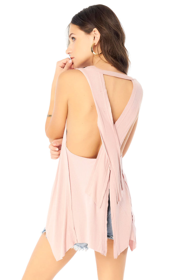 Salty Air Tank - Rosewater,saltwater luxe,Saltwater Luxe,WOMENS